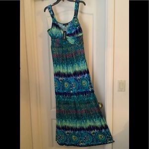 🚚MOVING SALE! NWT FULL LENGTH, STRETCHY SUNDRESS